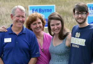 Ed, Anne, Erin & Conor (Kathleen's at Willamette University, Salem, Oregon