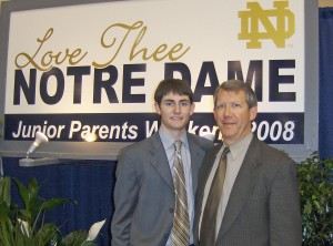 Conor's Commencement Weekend, Notre Dame (2009)