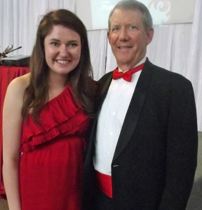 Erin and Ed at UPS Alpha Phi Red Dress Gala (2013)