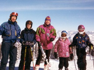 Byrne Family outing, Snowmass (2000)