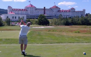 Golf at Mt. Washington Resort course, Bretton Woods, NH (2012)
